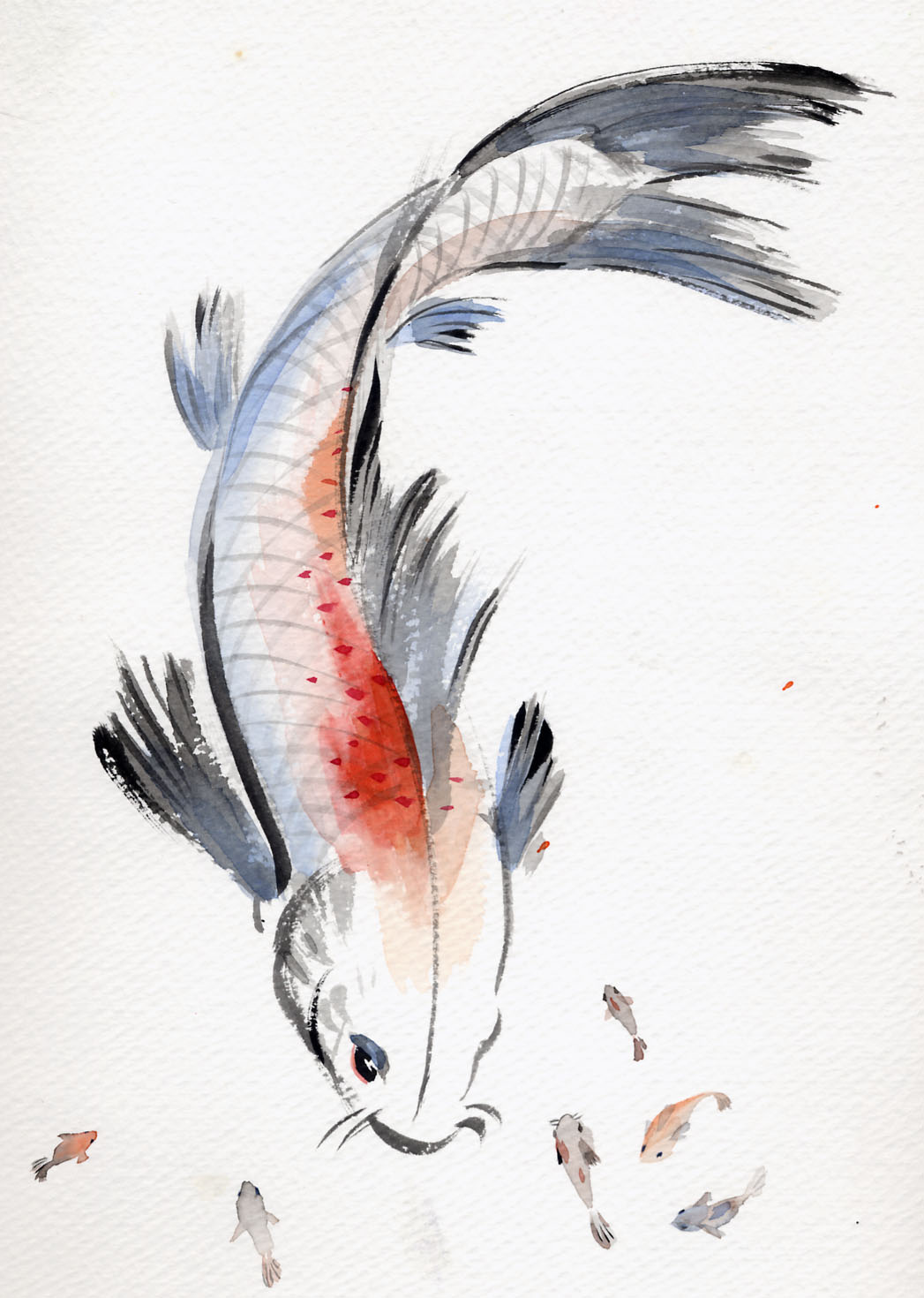 Art_catalog on Write Chinese Characters Fish